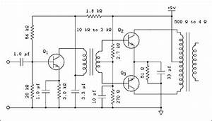 Audio Output Transformer Wiring Diagram
