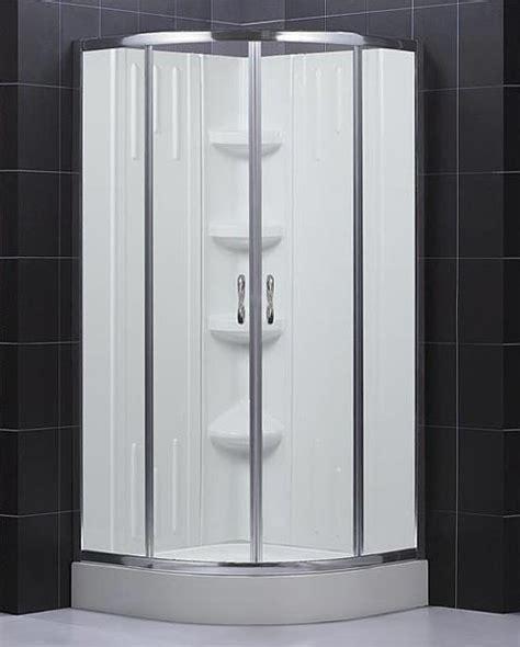 Glass Shower Enclosure Kits by Sector Shower Enclosure Base Backwall Kit