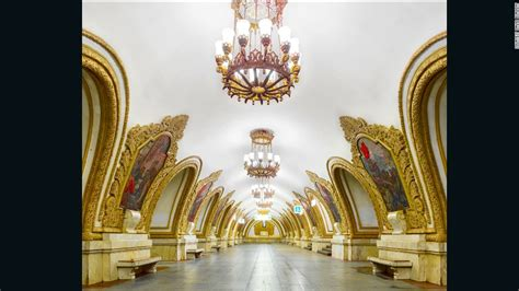 12 Most Beautiful Metro Station in Moscow, Russia (12
