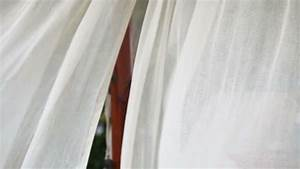 sheer white curtains blowing in the wind stock footage With white curtains wind