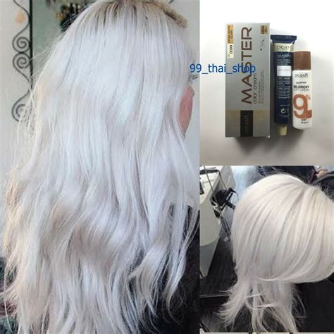Dcash Master Permanent Hair Dye Wh0099 Extra White White
