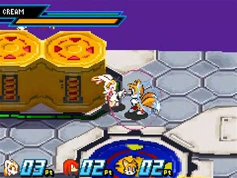 Sonic Battle (gba) Challenge Mode Cream Level 3