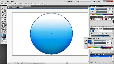 how to change gradient color in illustrator how to use the fill and gradient tool in adobe illustrator