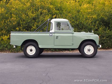 land rover pickup truck autoliterate 1962 land rover series iia 109 pick up