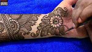 Step by Step Latest Full Hand Mehndi Design For Hand 2017 # 1010+ Makstyles