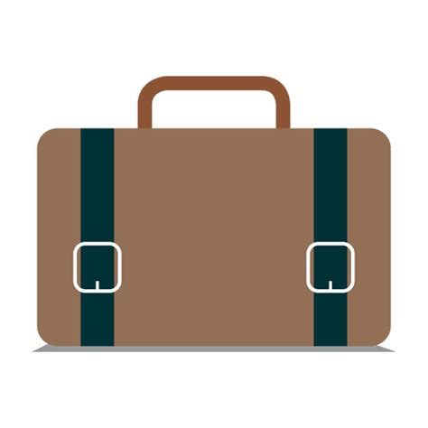 11967 briefcase icon flat flat briefcase icon transparent png svg vector