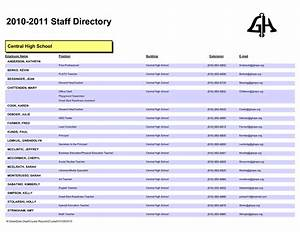 employee directory template for company helloalive With resource directory template