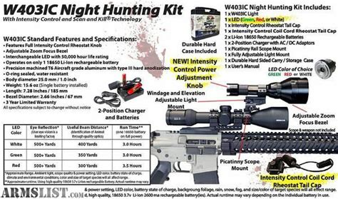 wicked hunting lights amazon armslist for sale wicked hunting lights
