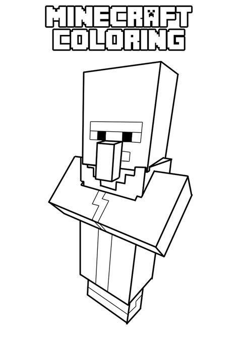 Minecraft Coloring by Minecraft Coloring Pages 4442 Bestofcoloring