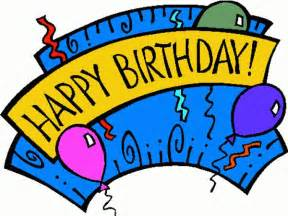 Happy Birthday Clip Art Free