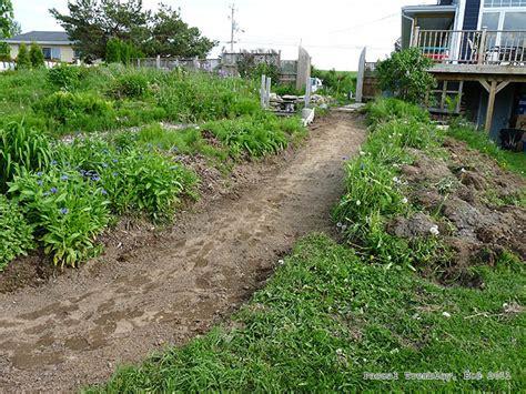 how to make a cheap garden path garden path building guide how to build a cheap garden path diy plan