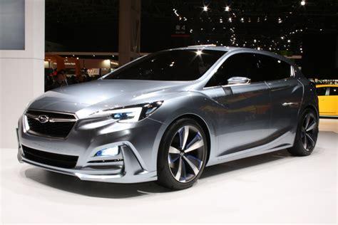 subaru impreza sedan concept coming  la auto show