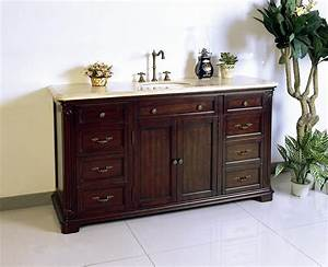 Vintage bathroom vanity spaces traditional with adelina for Classic vanities bathrooms