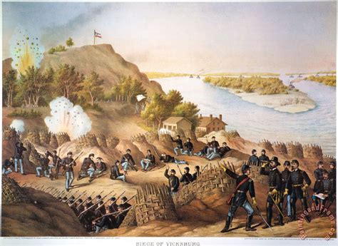 siege of others siege of vicksburg 1863 painting siege of
