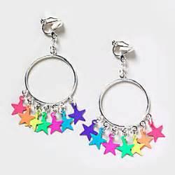 diamond earrings on men bright clip on hoop earrings 39 s polyvore