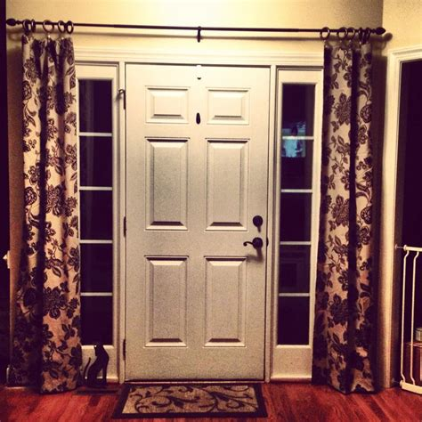 Sidelight Window Treatments Ideas by Front Door Sidelight Window Treatments Window Treatments