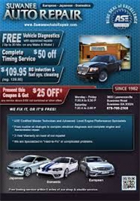 auto repair shop flyers  advertising ideas