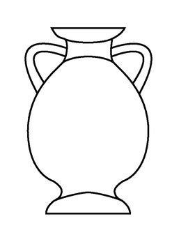 vase templates  bk design teachers pay teachers