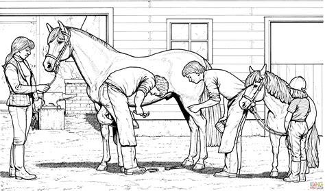 disegno  cavallo  pony da colorare disegni da
