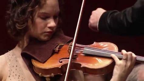 youy tub brahms violinkonzert hr sinfonieorchester hilary hahn