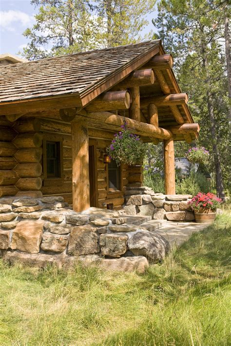 exterior ideas log cabin decorating ideas rustic with club glass Cabin