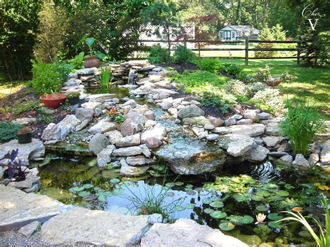 landscaping ponds chez v tales from the projects diy paver patio pond
