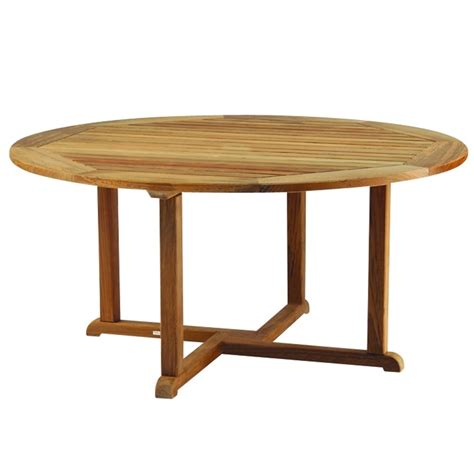 kingsley bate essex 60 quot rd dining table