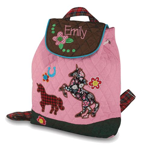 personalized preschool backpack embroidered 861 | girls preschool backpack 62