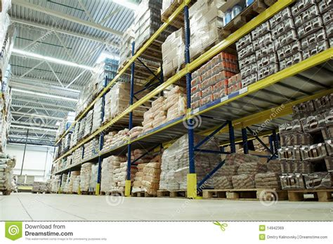 warehouse food depot royalty  stock images image