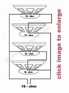 4 Speaker 16 Ohm Wiring Diagram