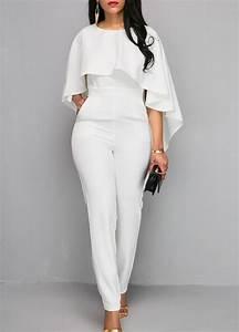 Outfit Für Hochzeitsgäste Damen : 1001 ideen f r jumpsuit hochzeit erscheinen sie in ~ Watch28wear.com Haus und Dekorationen