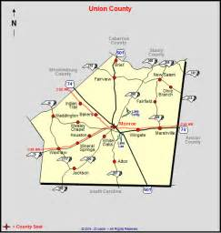 Union County North Carolina Map