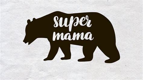 African american svg woman svg mandala svg zentangle svg by. Super Mama svg, Mama Bear SVG, Bear SVG, Mommy SVG, Bear ...