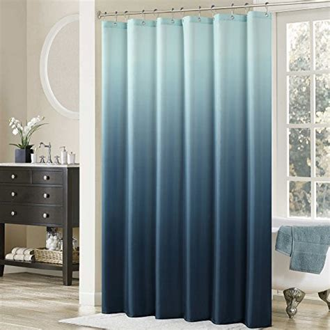 72 quot ombre blue shower curtain polyester fabric - Ombre Shower Curtain