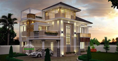 three story houses unusually modern three storey house home design