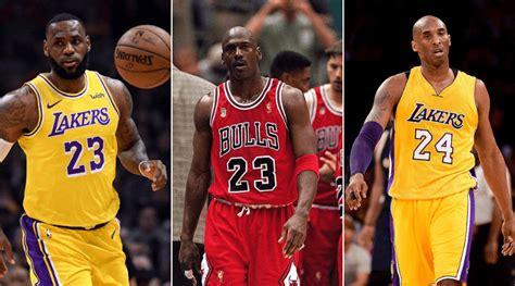 Comparing LeBron James, Michael Jordan and Kobe Bryant in ...