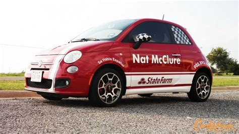 Fiat Insurance by Fiat 500 Wrap For State Farm Insurance Car Wrap City