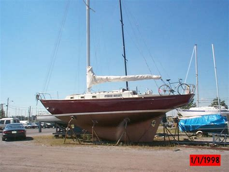 whitby boat works alberg  sailboat  sale