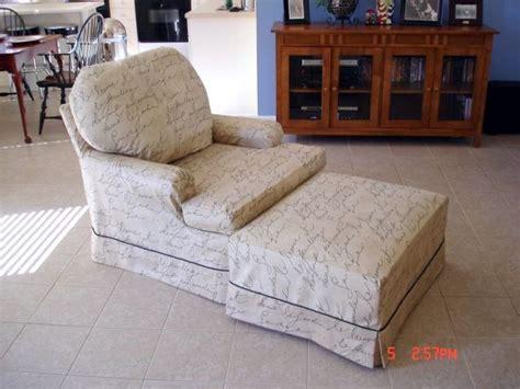 chair and ottoman covers slipcovers elainahill com custom window treatments