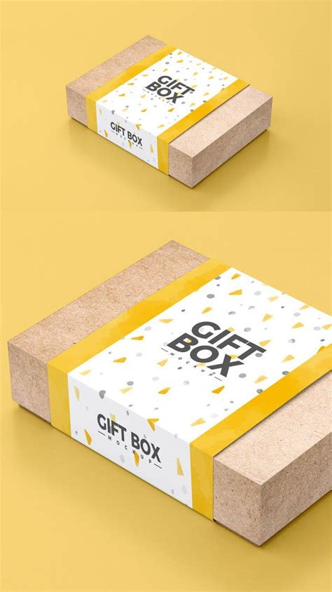 Presentation is all that matters, this mockup will help you out to win the heart of your client, just fit in. 35 New Useful Free PSD Mockup Templates | Box packaging ...