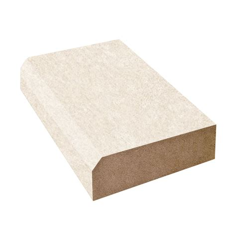 Laminate Countertop Beveled Edge - bevel edge countertop trim wilsonart almond leather 2932 60