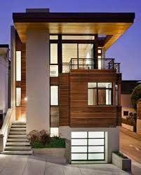 contoh model rumah modern ala korea simple terbaru