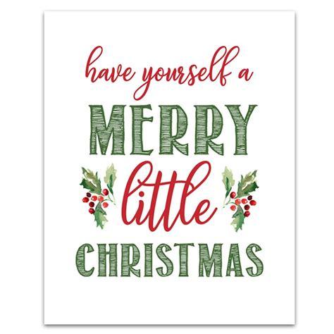 Merry Christmas Signs Printable  Printable 360 Degree