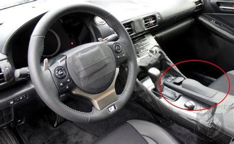 spy shot  mystery model   lexus interior