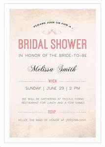 sample bridal shower invitation template 29 documents With wedding shower invitation templates free
