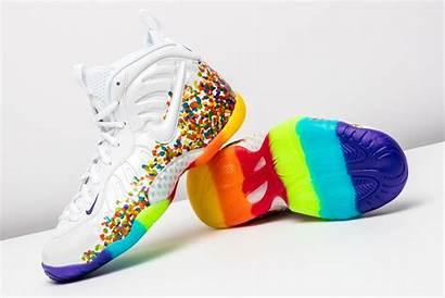 Nike Fruity Pebbles Foamposite Foamposites Simpson Stadiumgoods