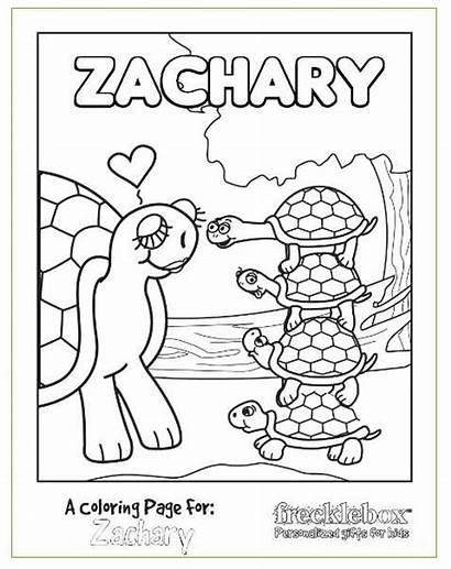 Coloring Pages Personalized Printable Custom Sheets Books