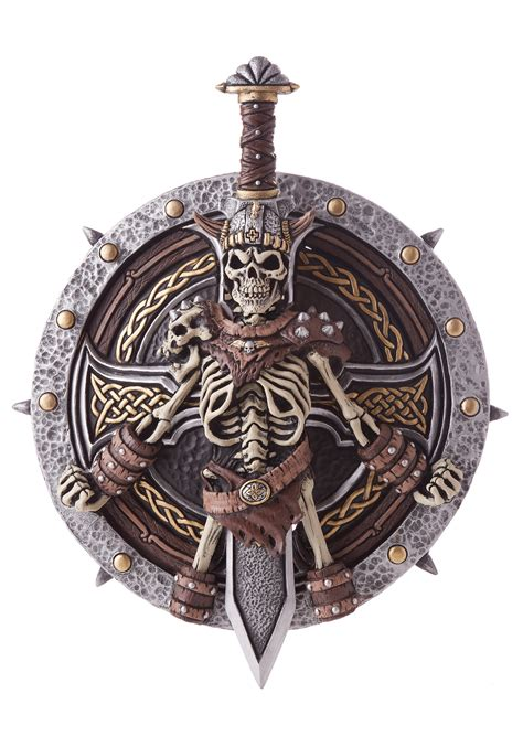 Viking Lord Shield & Sword Weapon Set