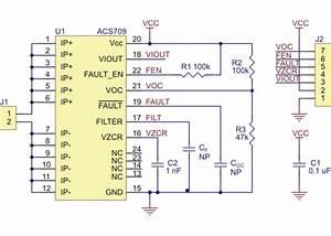 Acs709 Current Sensor Carrier