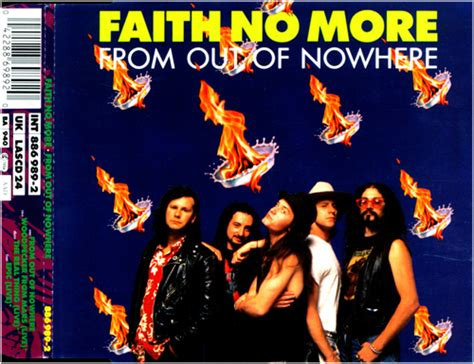 Faith No More From Out Of Nowhere Cd West German